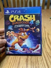 Crash Bandicoot 'its about time' ps4