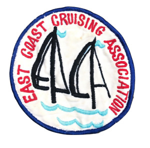 EAST COAST CRUISING ASSOCIATION Vintage Round Embroidered Patch