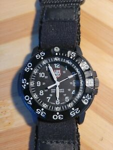 LUMINOX Navy Seals Series3000 Mens Men'S Watch Black Quartz