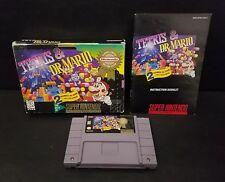 Tetris & Dr. Mario (Super Nintendo Entertainment System, 1994) SNES Complete Box