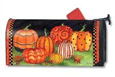 Magnet Works Mailwraps Painted Pumpkins Original Magnetic Mailbox Wrap Cover
