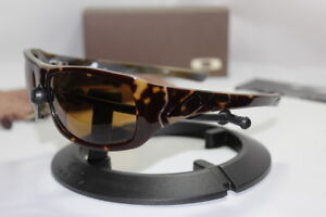 New Oakley Sideways Brown Tortoise w/Bronze Polarized 12-961
