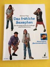 Das fröhliche Saxophon, Alt-und Bariton Sax, Hartmut Tripp