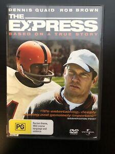 The Express DVD, 2008 True Story Film Dennis Quaid, Rob Brown. Region 4 RARE