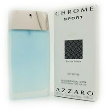 Chrome Sport By Azzaro For Men - Edt/Spr - 3.4oz/100ml - Brand New Tester In Box