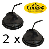 REIMO CAMP4 Super Power Suction Cup/Hook Awning/Canopy/Camper/Caravan/Garage x 2