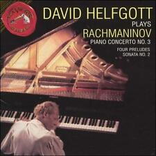 Rachmaninov CD Piano Concerto No 3 Four Preludes Sonata No 2 DAVID HELFGOTT