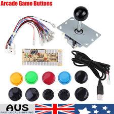 DIY Delay Arcade Kits Parts USB Encoder Joystick 10 Mame PC Buttons Ark AU