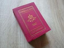 ALMANACH DE GOTHA 1905 Annuaire Genealogie Justus Perthes