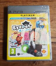EYEPET MOVE EDITION Platinum Jeu Sur Sony PS3 Playstation 3 Neuf Sous Blister VF