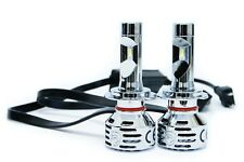 LED H7 2 Sided Conversion Kit 6000K White Headlight and Fog Bulbs 11000 lumen