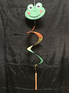 "Frog Twister Windsock 9.5""x40"""