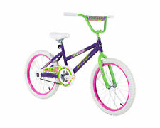"20"" Kids Bike, Magna Girls Rule, Purple, Green, Coaster Brake, Ages 6-10"