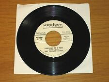 """PROMO COUNTRY 45 RPM - KAY TOLLIVER KEMMER - MUSICOR 1347  """"FOOTSTEPS OF A FOOL"""""""