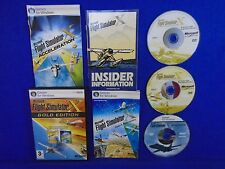 PC MICROSOFT FLIGHT SIMULATOR X Gold Edition Deluxe +Acceleration Windows 7 8 10