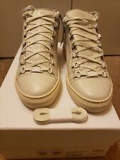 4a0f79d3f Balenciaga Arena White High Top Leather Sneaker Size 41