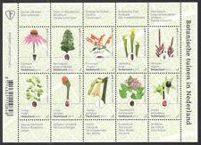 NVPH: V 3525-3534: BOTANISCHE TUINEN IN NEDERLAND  2017 vel postfris
