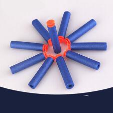 50 BLUE SUCTION Darts Refill Bullets for NERF Gun N-Strike Elite Snapfire etc