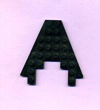 Lego--6104--Flügel--Platte--Mit Ausschnitt 3 x 4--Schwarz--8 x 8--