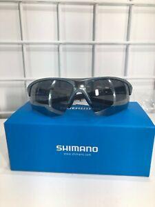 Shimano Sunglasses CE-TSPK1MR Silver/ Smoke Silver Mirror New in Box