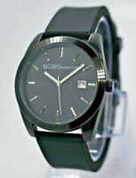 BCBGeneration Women's Watch, Black Steel, Date, Rubber Straps, 38mm, BCBG GL4191