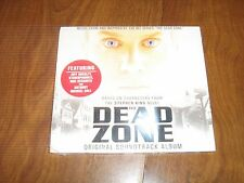 New/Sealed DEAD ZONE Original TV Soundtrack [Digipak] 2004 CD
