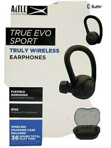 NEW SEALED! Altec Lansing MZX2001BLK True Evo Sport Waterproof Bluetooth Speaker
