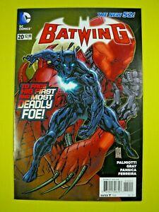 Batwing #20 - 1st Full Appearance of Luke Fox as Batwing - VF - DC Comics