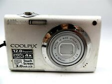 Nikon Coolpix S4000 12 MP Digital Camera 4X Wide Zoom Touch Screen