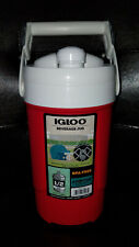 IGLOO 1/2 Gallon Sport Beverage Jug with Hooks - red star