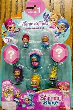 8 Pack Teenie Genies 2 Hidden 1 Floating Shimmer and Shine Set SERIES 1 #12