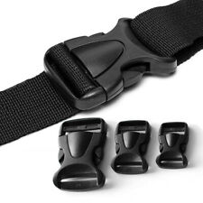 Side Release Buckles Buckle Clips - Black For Luggage Webbing Bags Straps 1PC