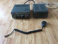 Icom IC-735 HF Transceiver + PS 55 Power Supply + Mic + FL-32A CW & SSB Filter