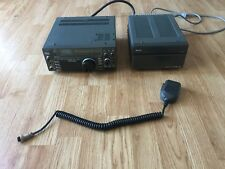 Icom IC-735 HF Transceiver + PS 55 Power Supply + Mic + FL-32A CW & SSB Filter