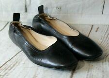 Everlane The Day Glove Leather Black Ballet Flats Loafers Italy Size 8.5/9