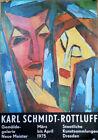 EAST GERMAN EXHIBITION POSTER 1975 - KARL SCHMIDT-ROTTLUFF * ART PRINT