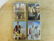 Burn Notice Season 1 - 7 DVD lot collection W/ The fall of Sam Axe