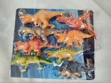 BRAND NEW Adventure Force Dinosaur Pack 8 Dinosaurs Sealed Free Shipping