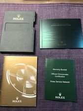 Rolex Daytona 2014 Guarantee Paper hold;  Booklets Set.  English version❗️
