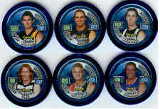 2010 Topps AFL Chipz Premium Blue Captain Chipz Full Set (18)