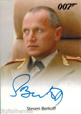 James Bond 007 Autograph & Relics 2013 Card Steven Berkoff as General Orlov