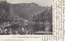 Honesdale, Pa - Irving Cliff and Park Lake