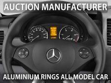 Mercedes Sprinter 906 2006> Polished Aluminium Trim Rings Instrument Cluster x2