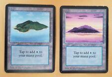 Vintage Magic   MTG Alpha COMPLETE BASIC LAND SET [10x Cards], OLD SCHOOL!!!