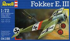 KIT REVELL 1:72 DA MONTARE AEREO FOKKER E. III ART 04188