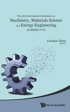 Machinery, Materials Science and Energy Engineering (ICMMSEE2015) :...