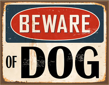 "BEWARE OF DOG foam board sign 11"" X 8"" 1/2  Free shipping in the USA"