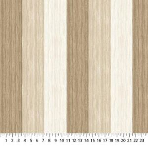 The View From Here Island Paradise Wood Grain Tan Cotton Quilt fabric Northcott