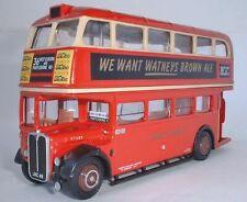 Bus London route 36 Kilburn Marylebone Road AEC RT with roofbox EFE #R170
