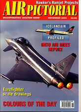 AIR PICTORIAL 2000/11 NOV NATO 2000,DH Mosquito,Typhoon,Hawker P.1134,Icelandair
